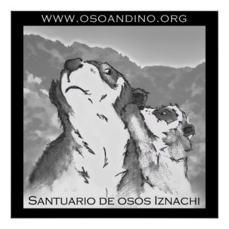 Santuario de Osos Iznachi - Afiche Poster