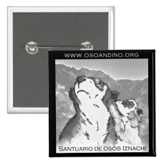 Santuario de Osos Iznachi - Broche Pin Cuadrada 5 Cm