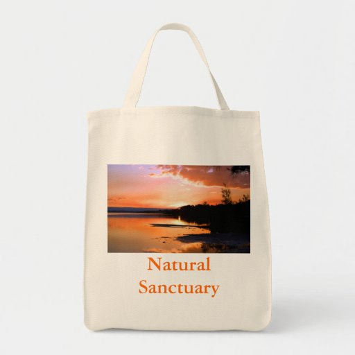 Santuario natural 1 bolsa lienzo