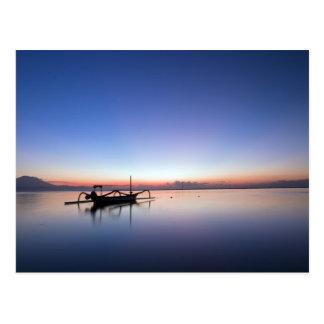 Sanur, Bali, Indonesia Postcard