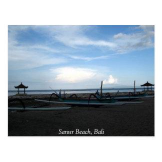 Sanur Beach, Bali Postcard