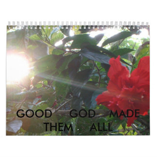 SANY1487, GOOD     GOD    MADE     THEM     ALLL WALL CALENDARS