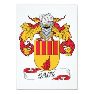 Sanz Family Crest Invites