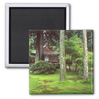 Sanzen-in Temple, Ohara, Kyoto, Japan 2 Inch Square Magnet