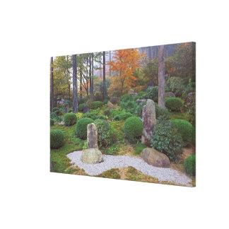 Sanzen-in Temple, Ohara, Kyoto, Japan 4 Canvas Print