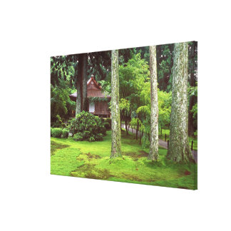 Sanzen-in Temple, Ohara, Kyoto, Japan Canvas Print