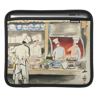 Sanzo Wada Japanese Vocations In Pictures, Cook iPad Sleeve