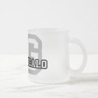 Sao Goncalo Frosted Glass Coffee Mug