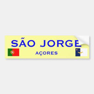 Sao Jorge Bumper Sticker