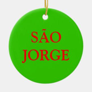 SÃO JORGE* Christmas Ornament