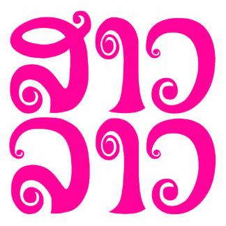 Sao Lao ✿ Lady Lao ✿ Laos / Laotian Language Cutout