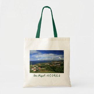 Sao Miguel Azores Canvas Bags