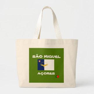 Sao Miguel Azores Custom Tote Bag