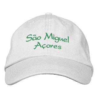 Sao Miguel - Azores Embroidered Hats
