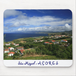 Sao Miguel Azores Mouse Pad