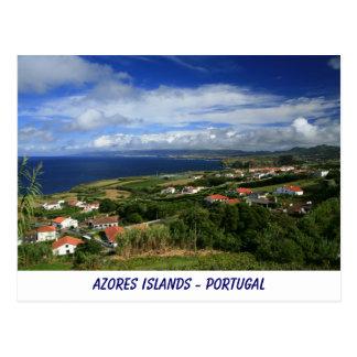 Sao Miguel, Azores Postcard