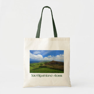 Sao Miguel green Tote Bags