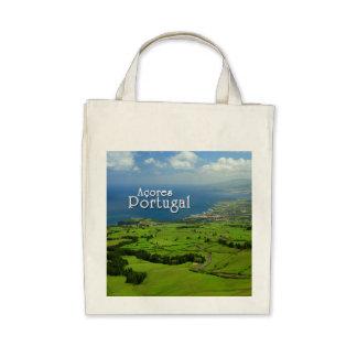 Sao Miguel green landscape Bag