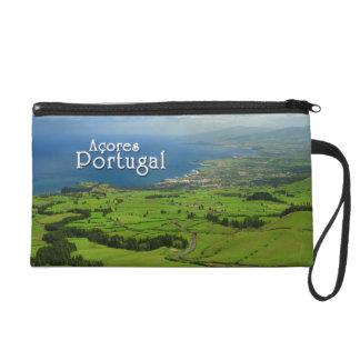 Sao Miguel green landscape Wristlet Clutch