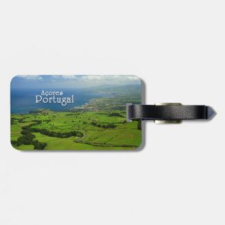 Sao Miguel green landscape Bag Tag