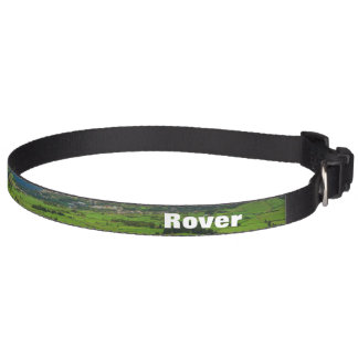Sao Miguel green landscape Pet Collar