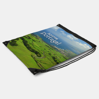 Sao Miguel green landscape Backpack