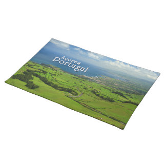 Sao Miguel green landscape Placemat