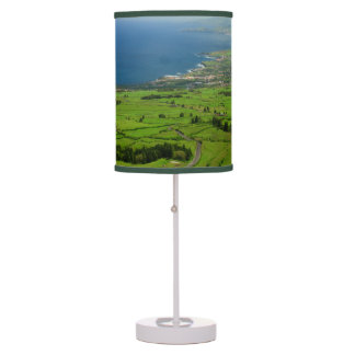 Sao Miguel green landscape Table Lamp