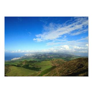 Sao Miguel island Azores Card