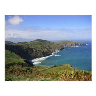 São Miguel Island in Açores/Azores Post Card
