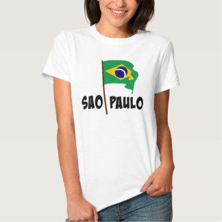 Sao Paulo, bandera del Brasil Playeras