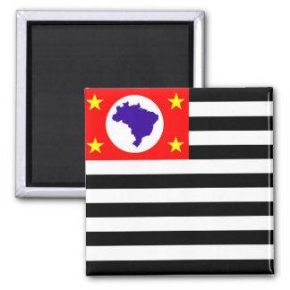 Sao Paulo city flag brazil symbol Magnet