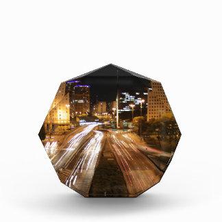 São Paulo city lights Acrylic Award