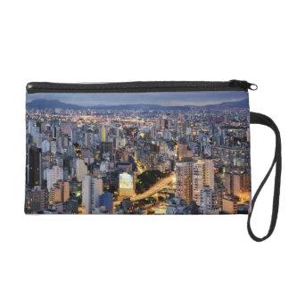 Sao Paulo Cityscape 2 Wristlet