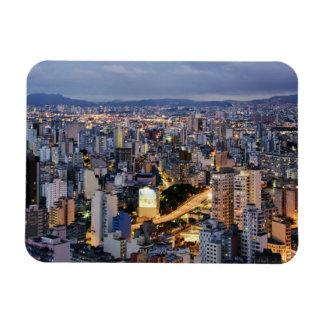 Sao Paulo Cityscape 2 Magnet