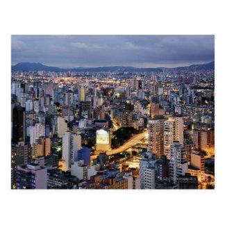 Sao Paulo Cityscape 2 Postcard
