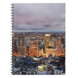 Sao Paulo Cityscape Notebook