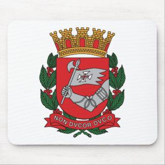 Sao Paulo Coat of Arms Mousepad
