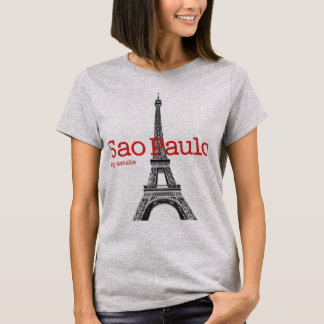 Sao Paulo & Eiffel Tower mstake T-Shirt