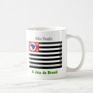 São Paulo Flag Gem Mug