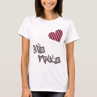 Sao Paulo Love T-Shirt