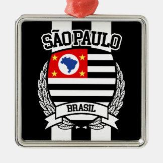 São Paulo Metal Ornament