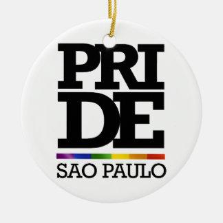 SAO PAULO PRIDE -.png Christmas Ornaments