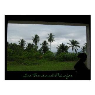 são tome1, São Tomé and Principe Postcard