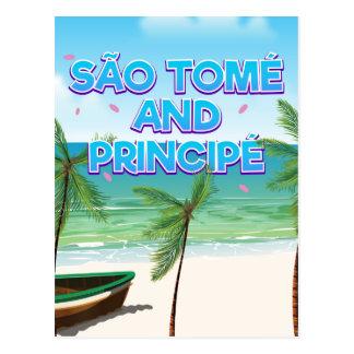 São Tomé and Principé beach Postcard