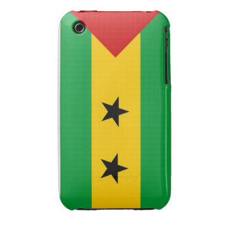 sao tome and principe country flag case iPhone 3 Case-Mate case