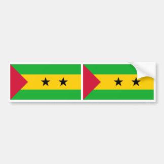 Sao Tome and Principe Flag Bumper Sticker