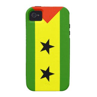 Sao Tome and Principe Flag iPhone 4/4S Cover