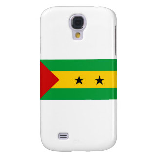 Sao Tome and Principe flag Galaxy S4 Cover