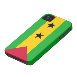 Sao Tome and Principe Flag iPhone 4 Cover